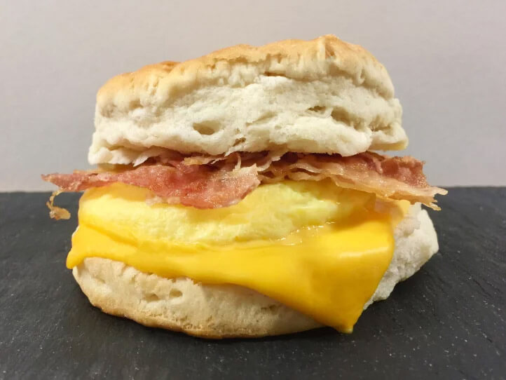 Bacon and Egg Biscuit